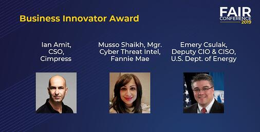 Business Innovator Finalists