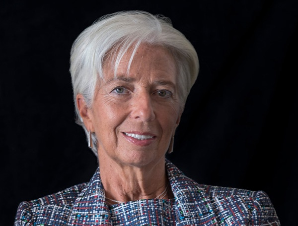 Christine Lagarde IMF on Cyber Risk Quantification for Finance Industry