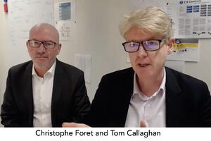 Christophe Foret and Tom Callaghan FAIR Institute Paris Chapter
