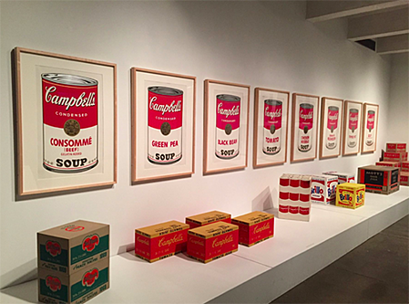 FAIR Conference 2018 Warhol Museum Soup Cans