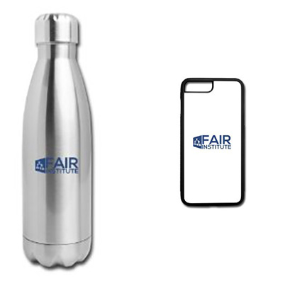 FAIR Institute Bottle and Phone Cover