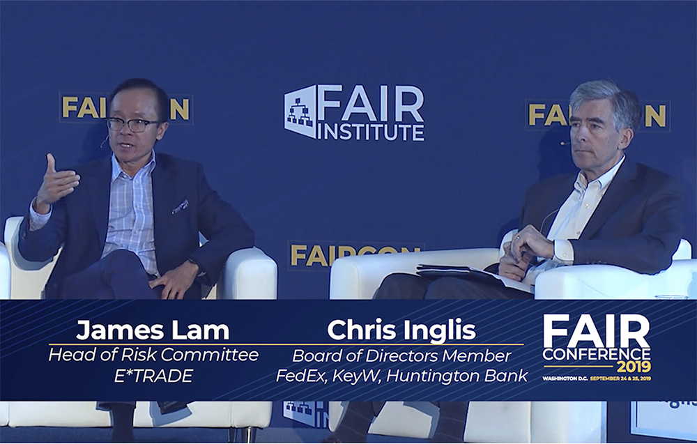 FAIRCON19 - James Lam - Chris Inglis - Pen Testing Your Board Pitch
