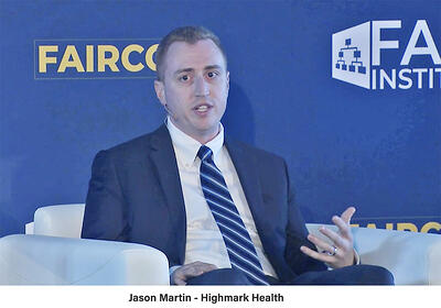 FAIRCON19 - Jason Martin - Highmark Health - Panel Discussion