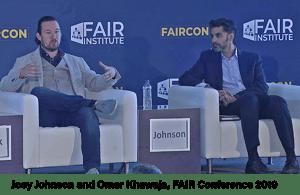 FAIRCON19 Joey Johnson and Omar Khawaja CISO Panel