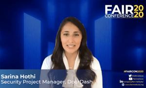FAIRCON2020 - DoorDash - Sarina Hothi