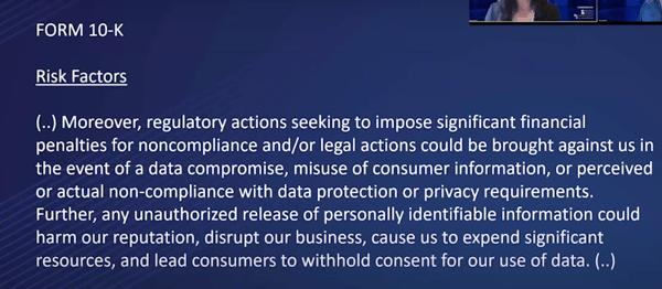 FAIRCON2020 - SEC Disclosure - 10K Risk Factors