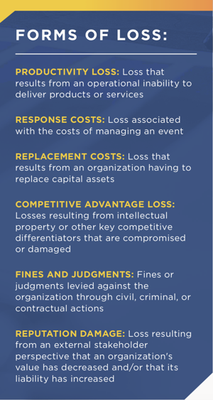 Forms of Loss in FAIR Risk Analysis