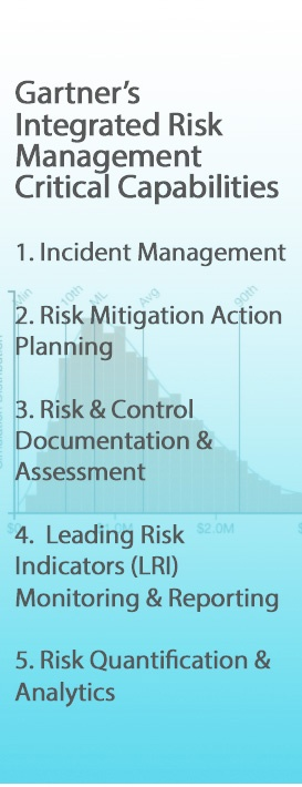 Gartners Integrated Risk Management Critical Capabilities Blue