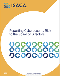 ISACA White Paper - Reporting to Board