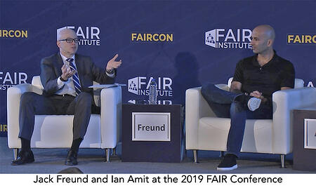 Jack Freund and Ian Amit at 2019 FAIR Conference
