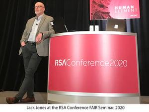 Jack Jones RSAC 2020 FAIR Seminar 2