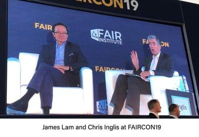 James Lam and Chris Inglis FAIRCON19