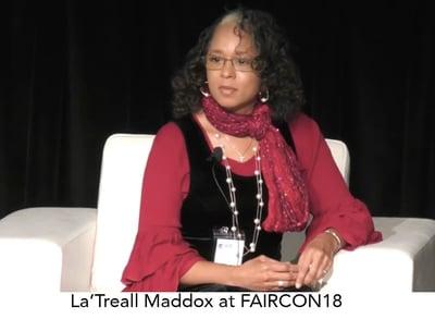 LaTreall Maddox - CISCO - Speaks at FAIRCON18