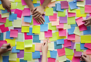 Post It Notes - Brainstorming