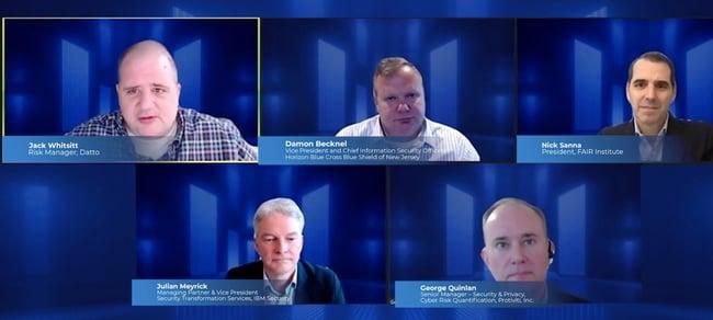 RSAC21 FAIR Institute Seminar - FAIR Experts Panel
