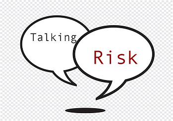 Talking Risk Red Black Cartoon Bubbles-1