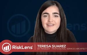 Teresa Suarez - RiskLens - Webinar - Scale Accelerate FAIR