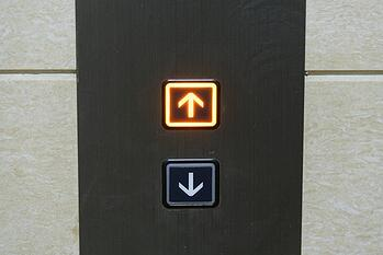 Upside or Positive Risk Elevator Going Up